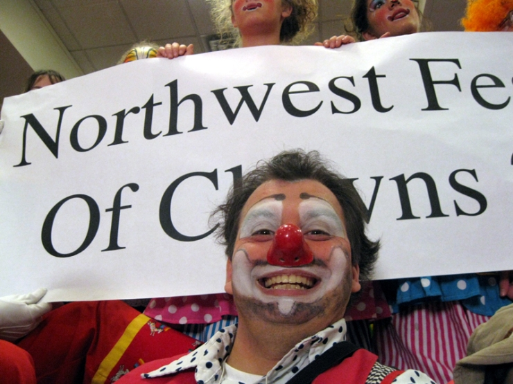Award-winning Clown, Jusby!