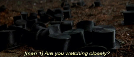 Image result for are you watching closely prestige top hat